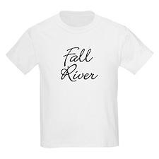 Fall River, Massachusetts Kids T-Shirt