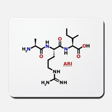 Ari name molecule Mousepad