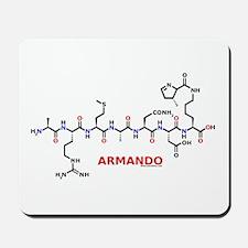 Armando name molecule Mousepad