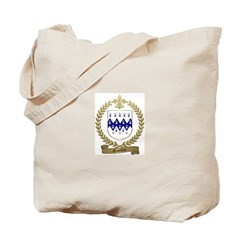 GAUDIN Family Crest Tote Bag