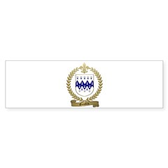 GAUDIN Family Crest Bumper Sticker (50 pk)