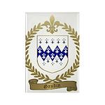 GAUDIN Family Crest Rectangle Magnet (100 pack)