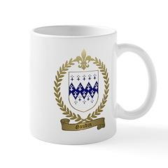 GAUDIN Family Crest Mug