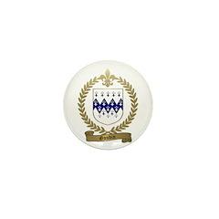 GAUDIN Family Crest Mini Button