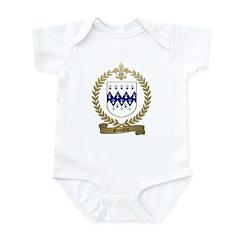 GAUDIN Family Crest Infant Bodysuit
