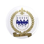 """GAUDIN Family Crest 3.5"""" Button"""