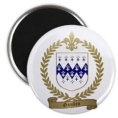 """GAUDIN Family Crest 2.25"""" Magnet (100 pack)"""