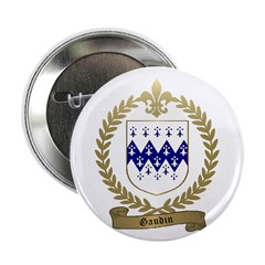 "GAUDIN Family Crest 2.25"" Button (100 pack)"