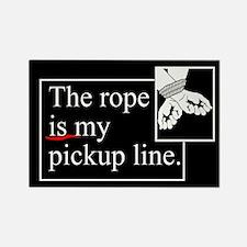 Pickup Line Rectangle Magnet