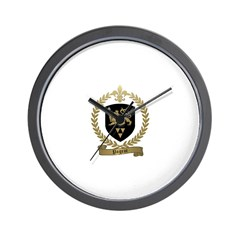 PAGEOT Family Crest Wall Clock