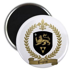 "PAGEOT Family Crest 2.25"" Magnet (10 pack)"