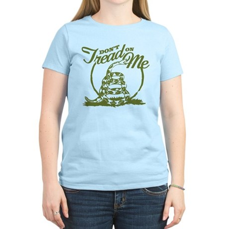 Dont Tread Snake Women's Light T-Shirt