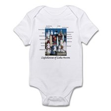 Lighthouses of Lake Huron Onesie