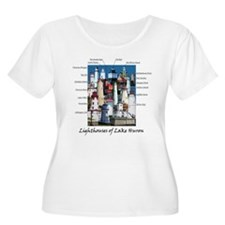 Lighthouses of Lake Huron T-Shirt