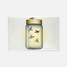 Fireflies in a Jar Rectangle Magnet
