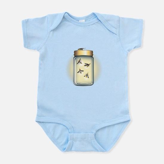 Fireflies in a Jar Infant Bodysuit