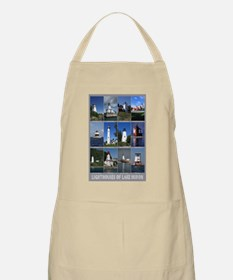 Lighthouses of Lake Huron BBQ Apron