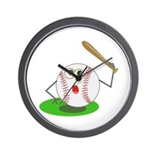 BaseBall Jock! Wall Clock