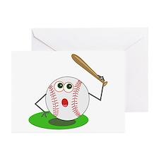 BaseBall Jock! Greeting Cards (Pk of 10)