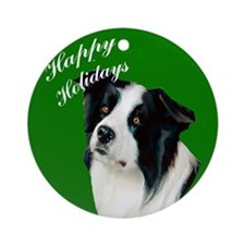 Cute Happy daze Ornament (Round)