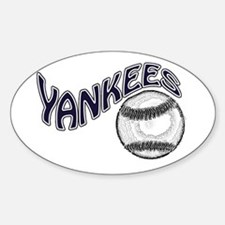 yankees 2009 Oval Decal