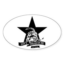 Dont Tread Star Oval Decal