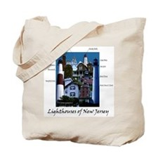 Lighthouses of New Jersey Tote Bag