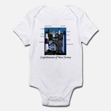 Lighthouses of New Jersey Onesie