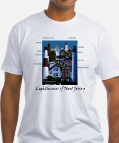 Lighthouses of New Jersey Shirt