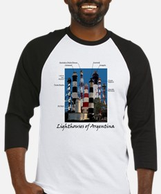 Lighthouses of Argentina Baseball Jersey