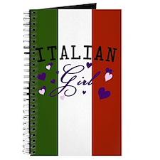 Italian Girl Baby Journal