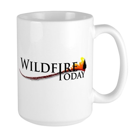 Wildfire Today new logo Mugs