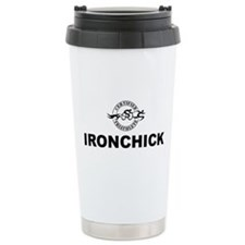 Stainless Steel Ironchick Travel Mug