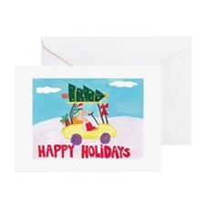 Happy Holiday Cards From a Nudist Camp (Pk of 10)