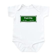Ford City Infant Bodysuit
