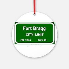 Fort Bragg Ornament (Round)