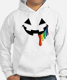 Juicy Rainbow Halloween Black Hoodie