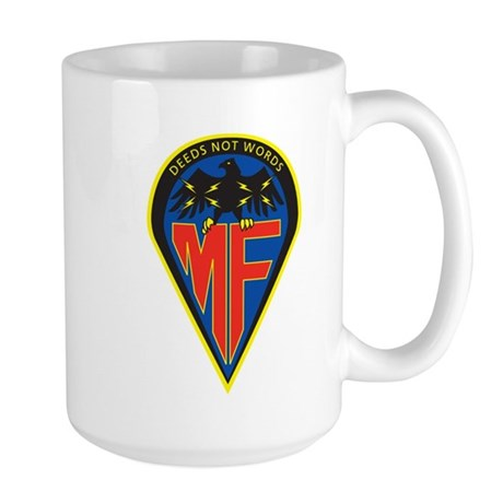 Megaforce Crest Large Mug
