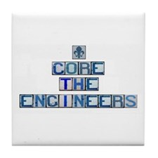 Core the Engineers Tile Coaster