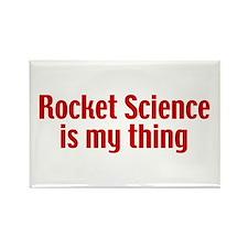 Rocket Science Rectangle Magnet (10 pack)