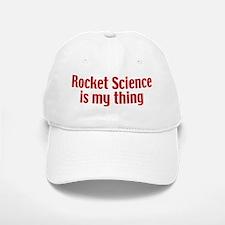 Rocket Science Baseball Baseball Cap