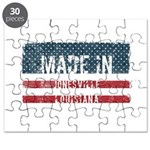 Hockey Hat Trick Rectangle Magnet (100 pack)