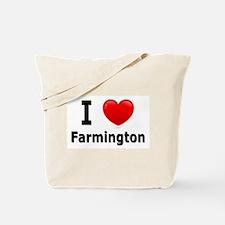 I Love Farmington Tote Bag
