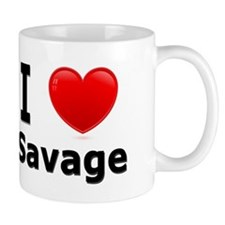 I Love Savage Mug