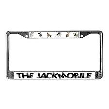 THE JACKMOBILE License Plate Frame