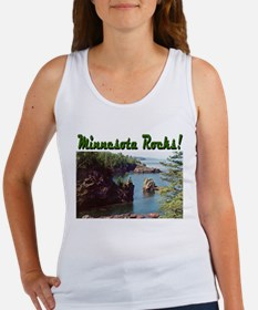 Minnesota Rocks! Women's Tank Top