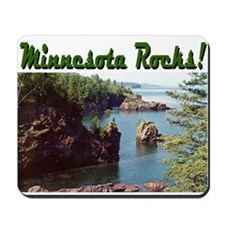 Minnesota Rocks! Mousepad