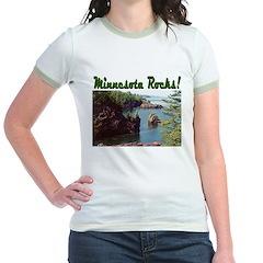 Minnesota Rocks! Jr. Ringer T-Shirt