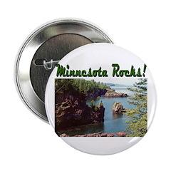 "Minnesota Rocks! 2.25"" Button (100 pack)"
