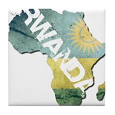 Rwanda Tile Coaster